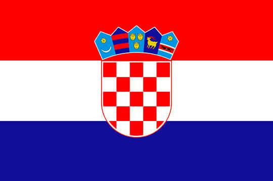 Bandera de Croacia el paraiso de la cerveza