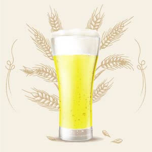 Blonde 3 color srm cerveza