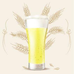 Cerveza 0,0 alcohol o Sin alcohol 2 color srm cerveza