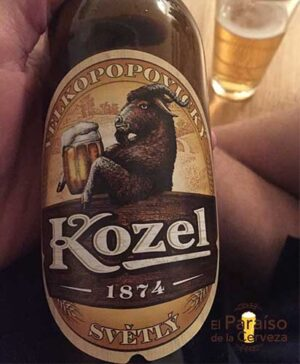 Kozel botellin cerveza Republica Checa 2