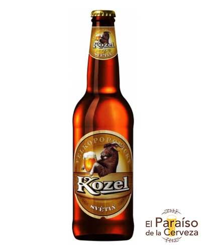 Kozel botellin cerveza Republica Checa