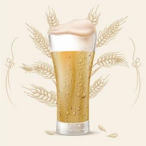 Light Ale 8 color srm cerveza