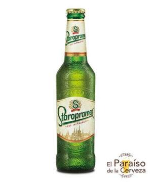 Staropramen botellin cerveza Republica Checa