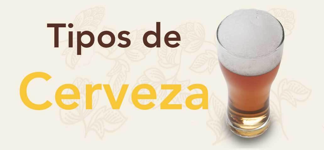 Tipos de cerveza lager ale lambic banner