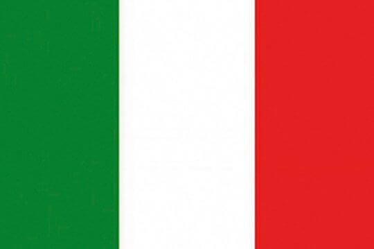 bandera Italia el paraiso de la cerveza