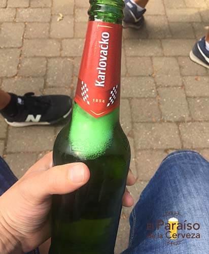 cerveza Karlovacko botellin croacia el paraiso de la cerveza