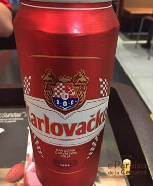 cerveza Karlovacko lata croacia el paraiso de la cerveza
