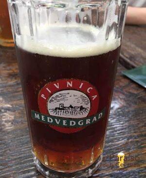 cerveza Medverdgrad croacia vaso el paraiso de la cerveza