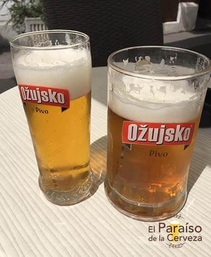 cerveza Ozujsko 2 croacia vaso el paraiso de la cerveza