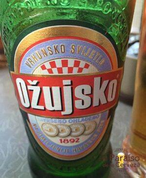cerveza Ozujsko croacia botellin el paraiso de la cerveza