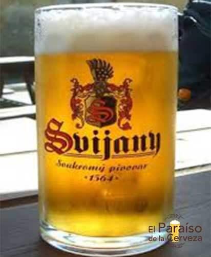 Cerveza Svijany Republica Checa