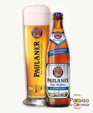 cerveza alemania paulaner-hefe-weissbier-sin alcohol 50cl el paraiso de la cerveza