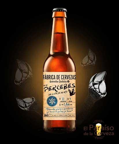 Estrella Galicia con percebes edición especial españa