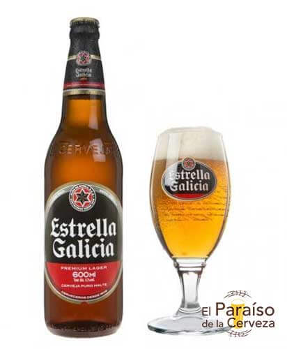 Cerveza Estralla Galicia Especial España