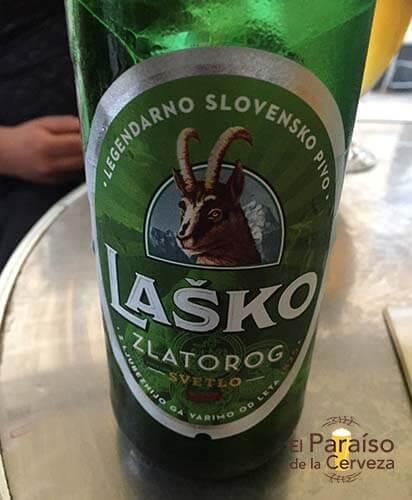 cerveza lasko eslovenia botella el paraiso de la cerveza