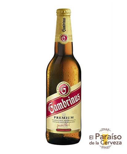 Cerveza Gambrinus Pilsen de la República Checa