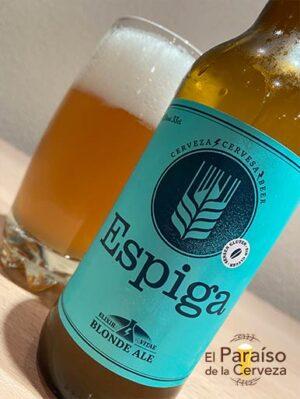 Cerveza Espiga blonde ale cataluña sin gluten