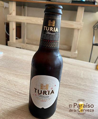 botellin tercio cerveza turia tostada valencia españa