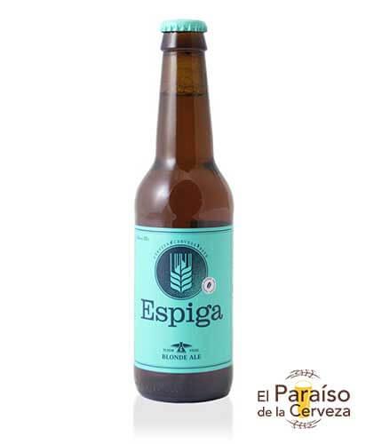 cerveza artesana espiga blonde ale sin gluten cataluña barcelona españa