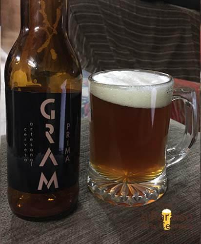 cerveza artesana prima ontinyet valencia españa botellin jarra
