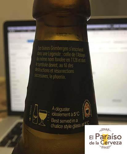 grimbergen-double-ambree belgica botellin arriba el paraiso de la cerveza
