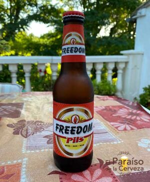 Freedom Pils Belgica botellín 25 cl