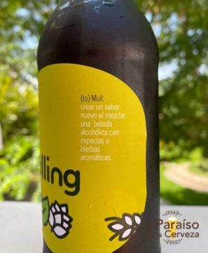 Cerveza aromatica artesana mulling Pamplona Navarra España