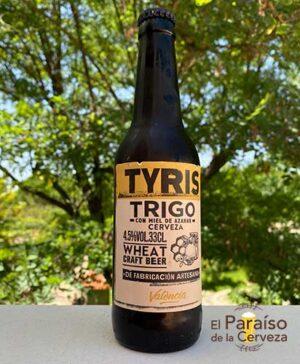 Cerveza Tyris de trigo weissbier con miel y naranja Valencia España