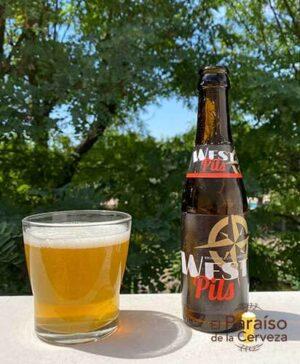 Cerveza West Pils Pilsen Belgica