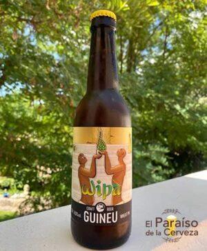 Cerveza Wipa una Indian Pale Ale de trigo weat IPA Barcelona España