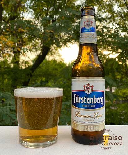 Cerveza Fürstenberg Premium Lager Alemania