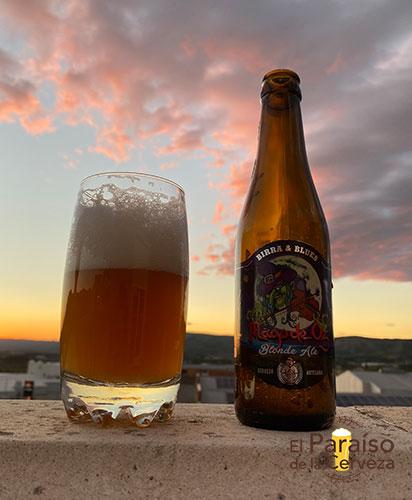 Cerveza Birra & Blues Mägo de Oz blonde Ale artesana Valencia España