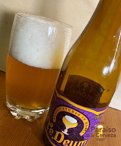 Cerveza Te Deum Tripel de abadía de Bélgica