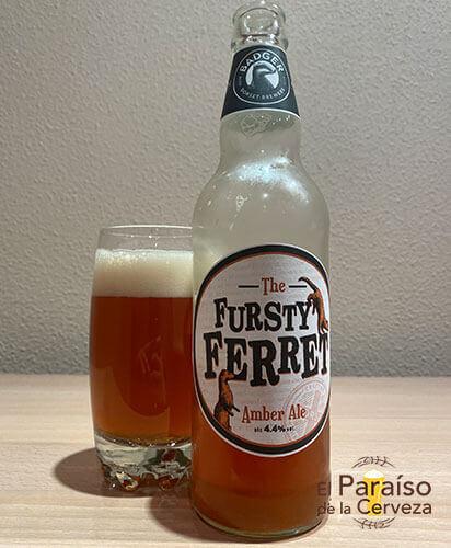 The Fursty Ferret cerveza inglesa Amber Ale de Reino Unido