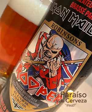 Iron Maiden Trooper de Robinsons Pale Ale