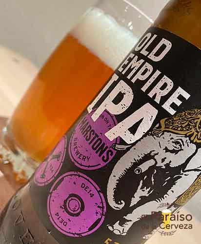 Marston s Old Empire IPA cerveza IPA de Reino Unido