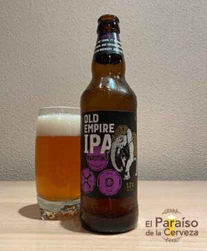 Marston s Old Empire IPA cerveza IPA de Reino Unido etiqueta