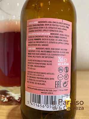 Mort Subite Kriek Lambic cerveza belga de cereza