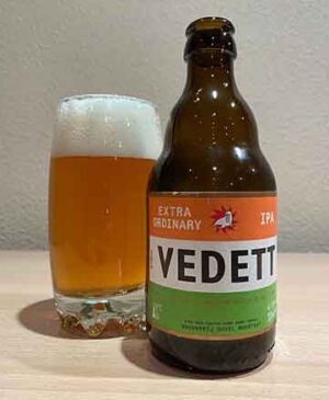 Vedett IPA extra ordinary Belgica Inidian Pale Ale