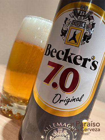 Becker's 7.0 Original de Alemania German Pilsen