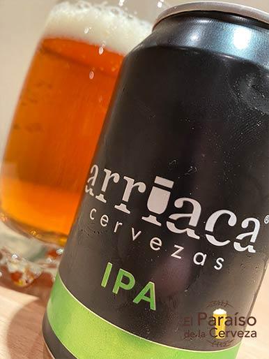 Arriaca IPA es una cerveza Indian Pale Ale de España