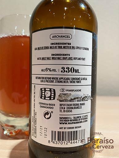Cerveza Archangel Barrels by Napabier la Cerveza con Vino Pamlona