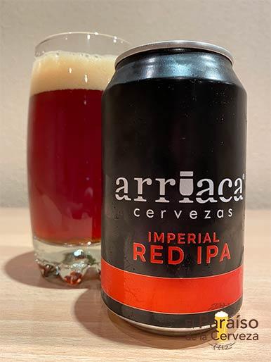 Cerveza Arriaca Red Imperial IPA Indian Pale Ale España