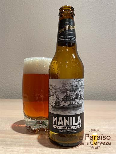 Cerveza Manila IPL Indian Pale Lager de San Miguel