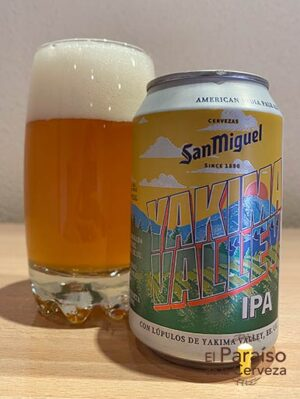 Cerveza San Miguel Yakima Valley IPA Indian Pale Ale