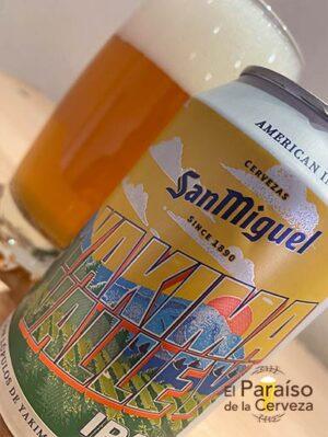 Cerveza San Miguel Yakima Valley IPA Indian Pale Ale