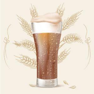 Cerveza de tipo Dunkelweizen