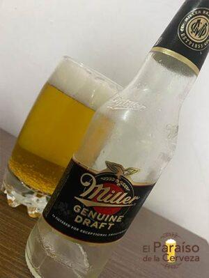 La cerveza Miller Genuine Draft es una cerveza de Estados Unidos