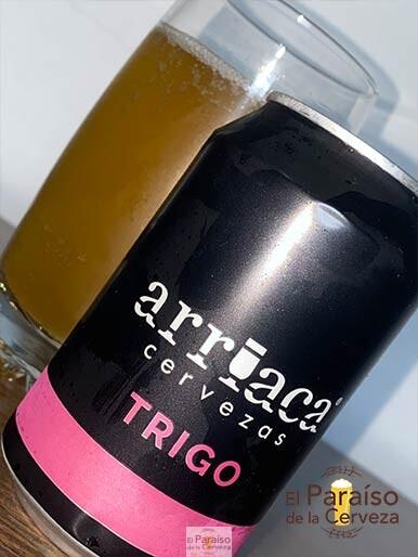 La cerveza Arriaca de Trigo de tipo Hefeweizen