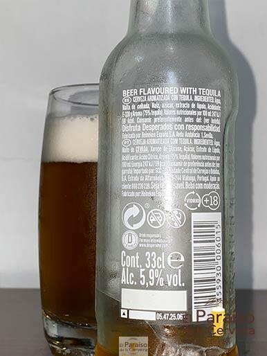 La cerveza Desperados Original con sabor a tequila y limon de origne frances
